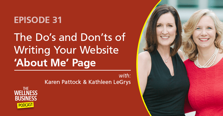 Episode 31 – The Do's and Don'ts of Writing Your Website 'About Me' Page