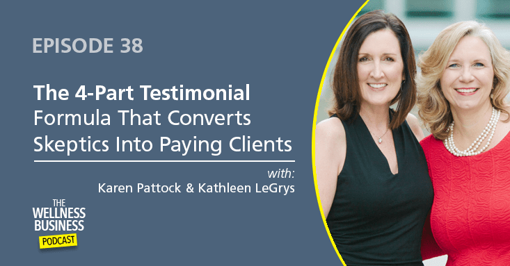 Episode 38 – The 4-Part Testimonial Formula That Converts Skeptics Into Paying Clients